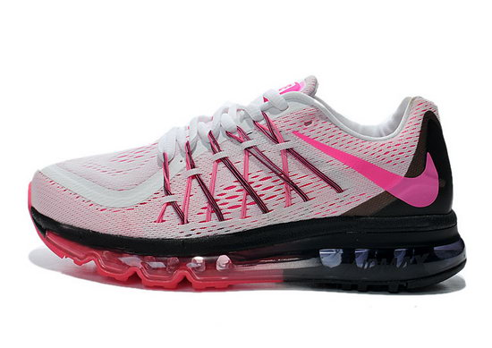 Womens Nike Air Max 2015 Pink White Red Black Factory Store
